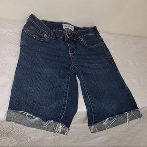 ☀️3/$50 Aeropostale Dark Washed Distressed Shorts